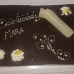 tarta normal de cumpleaños